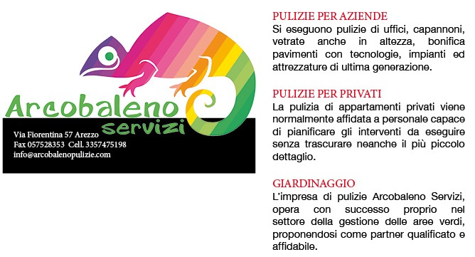 arcobaleno servizi